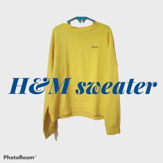 H&M sweater love
