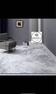 🚀INSTOCK 160x230cm Nordic Modern Carpet Polyester Rug and Carpets for Living Room Floor Child Kids Play Mat Bedroom rugs mat Bathroom Home Door Mat