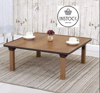 🚀INSTOCK Nora Korean folding table dining table small round table square table kang table tatami bay window table household table simple ground table low dining table