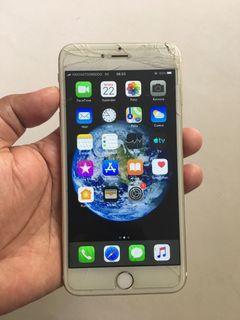 iPhone 6 Plus 64GB Apa adanya mesin normal