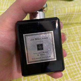 Jo Malone 絲絨玫瑰與烏木 Velvet Rose & Oud 黑瓶 50ml