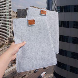 Like New🌈 Felt iPad Protective Bag Set of 2