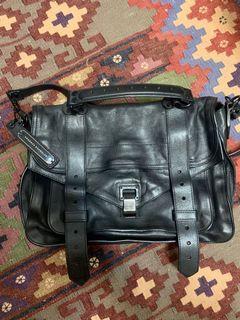 降!Proenza Schouler PS1 Medium Black 黑釦 中號 包