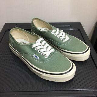 vans Authentic style 44 綠 US7 25cm
