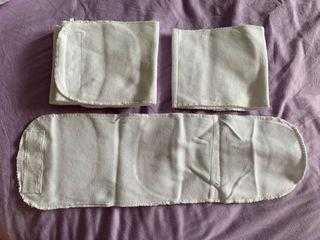 Velcro baby binders x 5pcs