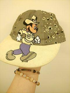 特殊老帽 米奇 迪士尼 大童帽vintage