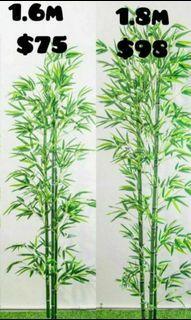Skgarden   Artificial Bamboo Plant 1.6m - 1.8m  Qxpress $10