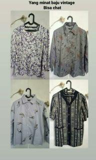 Baju vintage