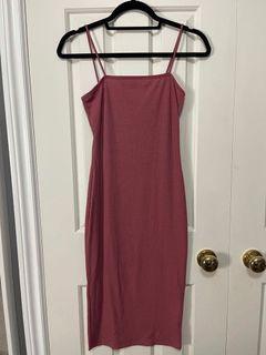 Forever 21 dark pink dress