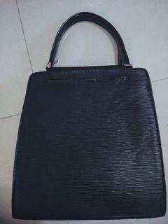[FREE ONGKIR] Lv louis Vuitton handle bag wanita hitam