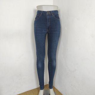 Highwaist jeans stretch