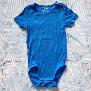 H&M Baby / Kids Blue Onesie