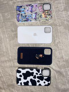 iPhone 11 cases (can be sold as set)