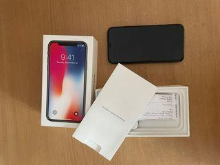 iPhone X, 64GB, space gray