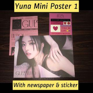 Itzy Guess Who Yuna