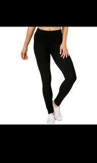 Legging Hitam Premium beli 2 gratis 1 warna abu