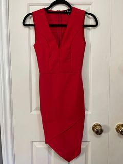 Lulu red dress