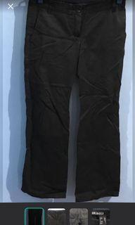 Mango Black Chino Pants size 34