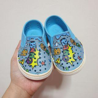 Native Pigeon Grey Toddler Shoes