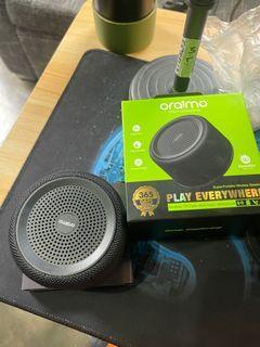 Oraimo OBS-33S Sound Go Bluetooth Speaker I Playing Time: 3-4 Hours I 3W Output I 400mAh Battery
