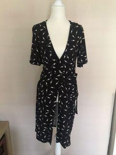 Primark Black Patterned Dress