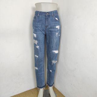 Ripped jeans rawis