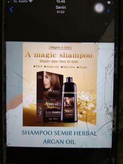 Shampoo semir mokeru