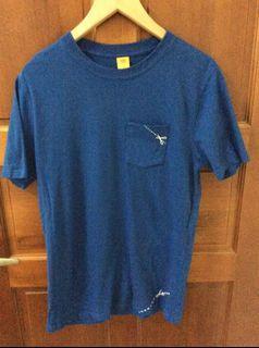 深藍簡約T shirt