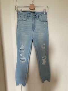 Women High Waisted Jeans size 2S / 26