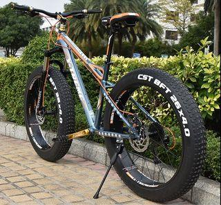 26*4.0胖車寬胎車登山越野車bike