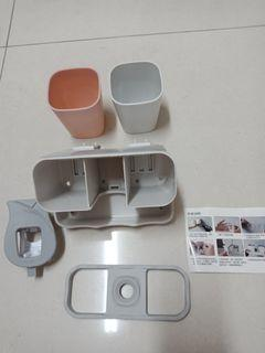自動擠牙膏盒組
