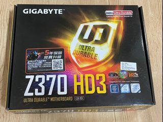 技嘉 Z370 HD3 主機板
