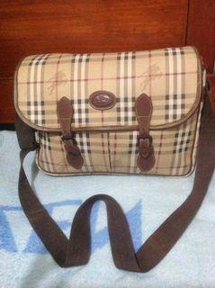 Authentic BURBERRYs laptop bag