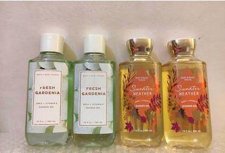 Bath & body works showergel