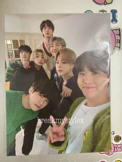 BTS BE Deluxe Weverse Mini Poster