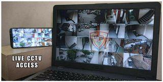 CCTV Phone & Laptop Live Access   Free Install 1080P HD IR Cameras 2MP