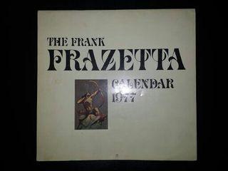 Frank Frazetta Calender 1977