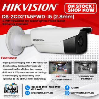 Hikvision IP CAMERA for sale