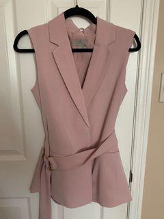 Hm pastel pink suit set