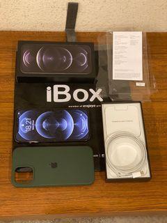 Iphone 12 Pro Max 128GB Graphite Garansi On 2022 Ibox Kondisi Fullset Original Istimewa