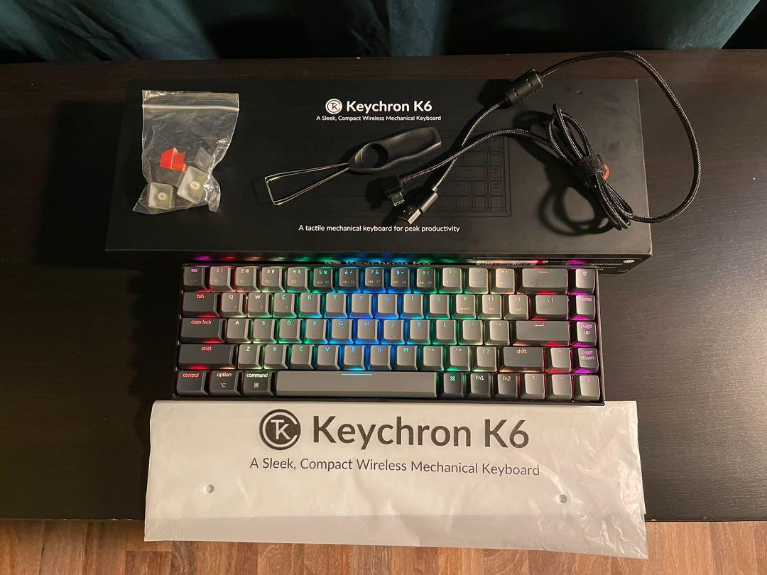 Keychron K20 Red Gateron Switches RGB, Computers & Tech, Parts ...
