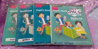 My Pals grade 5 workbook and textbook