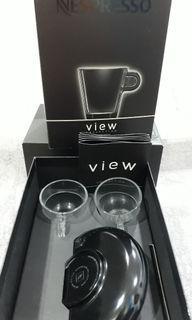 Nespresso Espresso Glass Collection Set - View - gelas kopi espresso set - Made in France