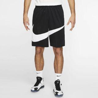 NIKE 男性 籃球短褲 球褲 XL 全新 黑色 短褲