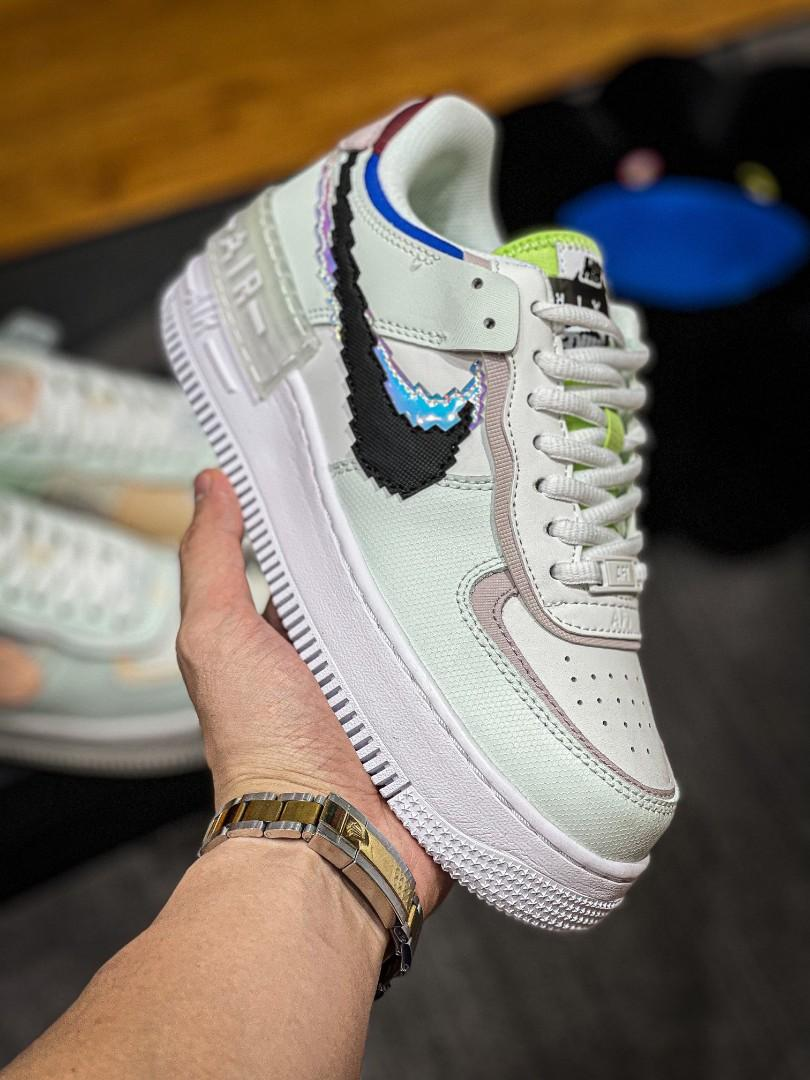 Nike Air Force 1 Shadow SE (GS)(W) CV8480-300, Women's Fashion ...