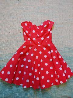 One of a Kind Polka Dot Dress