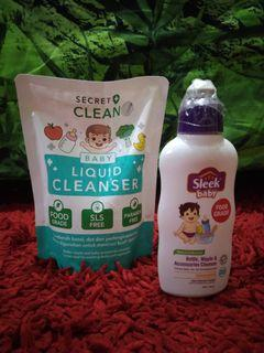 Sabun cuci botol bayi/buah