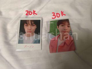 Trading Card Pola Haru DK Vernon Seventeen
