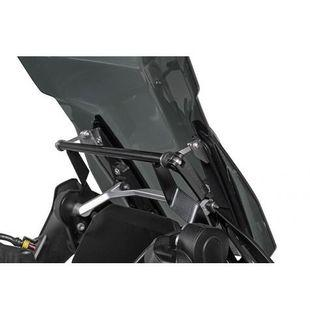Touratech Windscreen Stabilizer with GPS Mounting Bracket for BMW R1250GS/Adv & R1200GS/Adv