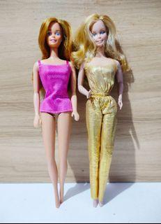 Set Vintage Sun Gold Malibu and Golden Dream Barbie Doll set sale dolls